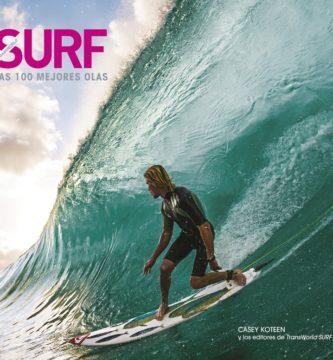 libro surf las 100 mejores olas